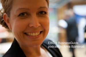 EBG podcast by Anna Bjärkerud
